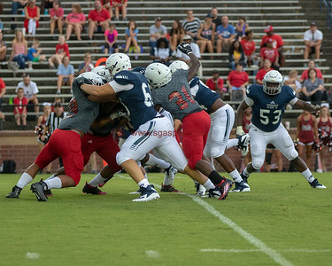 Lee County vs Tift County Football Scrimmage 2018