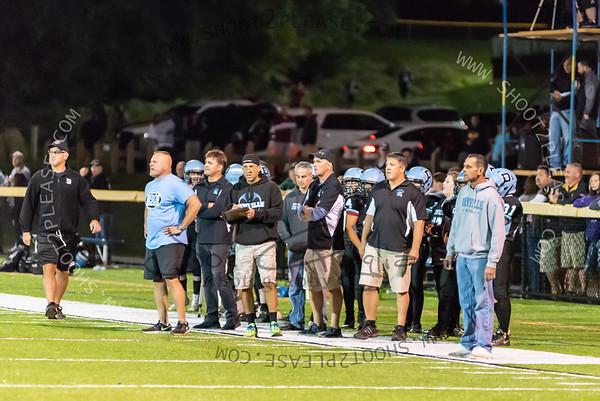 From Varsity vs Rockaway game on Sep 22, 2018 - Joe Gagliardi Photography