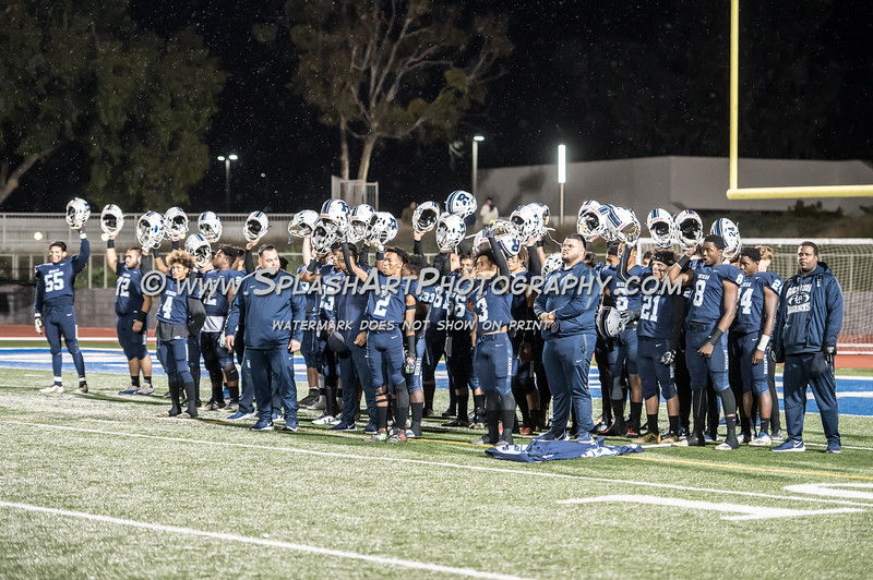2019 Reseda Regents Football vs El Camino Real