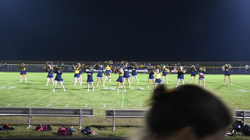 Cheerleaders vs BK