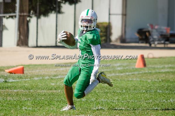 2019 Eagle Rock JV Football vs El Monte Lions