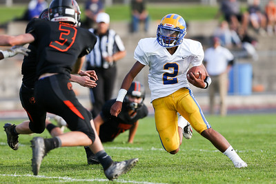 Cleveland Hill Eagles vs. Akron Tigers. 9/19/2019