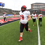 NCAA FOOTBALL:  APR 23 2021 Division I FCS Playoff - Davidson at (4) Jacksonville State