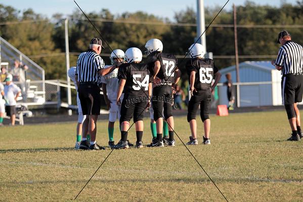 7th Grade Orng FBall vs Burnet