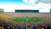 Sep 8, 2012; Ann Arbor, MI, USA; A general view of Michigan Stadium during the game between the Michigan Wolverines and the Air Force Falcons. Mandatory Credit: Tim Fuller-Air Force Academy Athletics