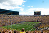 Sep 8, 2012; Ann Arbor, MI, USA; A general view of the flyover before the start of the game between the Michigan Wolverines and the Air Force Falcons at Michigan Stadium. Mandatory Credit: Tim Fuller-Air Force Academy Athletics