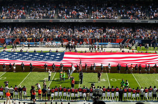 Anthem protests spread across NFL