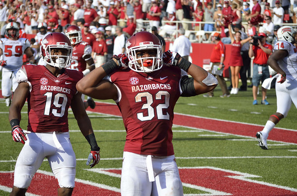 Arkansas Football vs ULL 2013