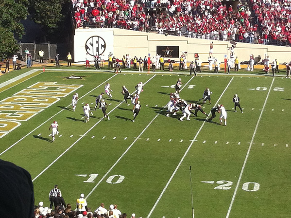 Arkansas Vandy Gameday