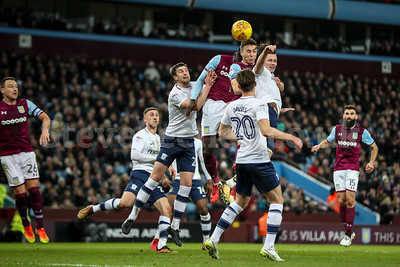 2018 EFL Championship Football Aston Villa v Preston North End Feb 20th