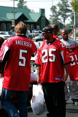Atlanta Falcons Fan Blitz