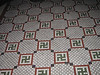 The incredible floor tile at Ernst Cafe.