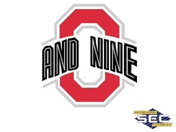 After the loss to LSU, Ohio State is now 0-9 against SEC teams in bowl games