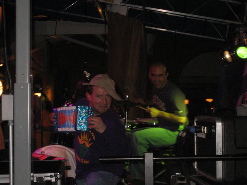 Steve and Steve doing some zydeco hip-hop