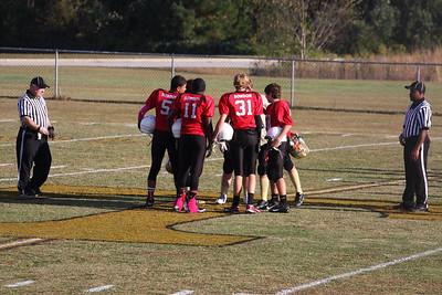 BMS Football Playoffs vs Temple 10/16/14