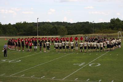 BMS Football vs Temple 09/11/14