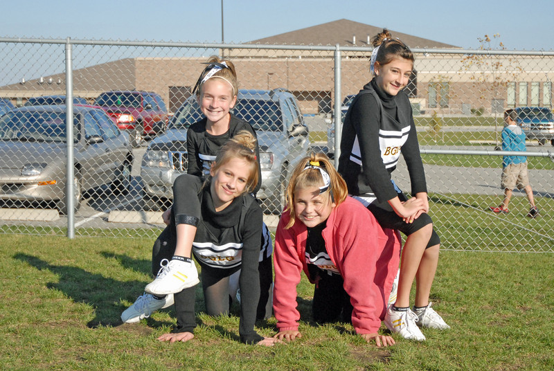 Cheerleader<br /> October 2009