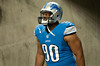 Aug 30, 2012; Detroit, MI, USA; Detroit Lions defensive tackle Ndamukong Suh (90) walks to the filed before the start of the preseason game against the Buffalo Bills at Ford Field. Mandatory Credit: Tim Fuller-US PRESSWIRE