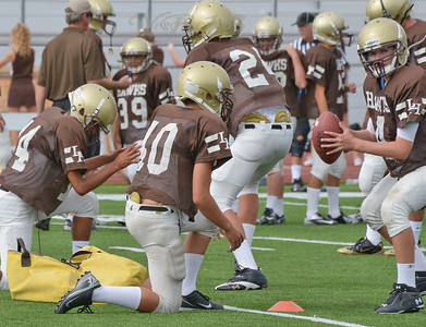 CAPO VALLEY vs LAGUNA HILLS FROSH FB 10-18-12