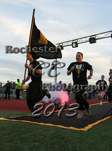 September 6, 2013;  Rochester, NY; USA; McQuaid Knights Football vs. Canisius Crusaders at McQuaid Field  Photo: Christopher Cecere