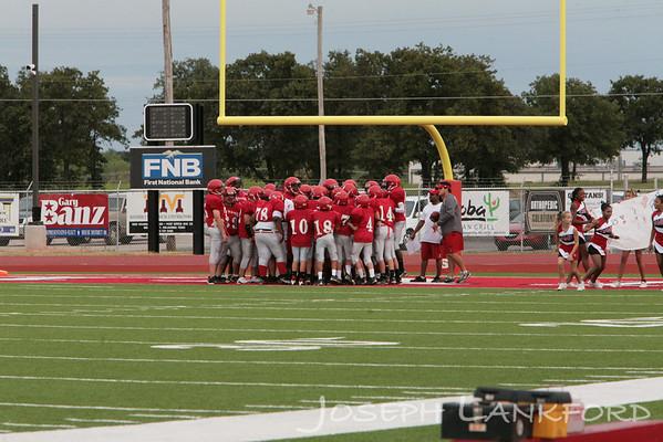 Carl Albert vs Choctaw Nicoma Park 8th Grade Sept 7
