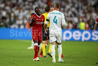 2018 UEFA Champions League Final Real Madrid v Liverpool May 26th