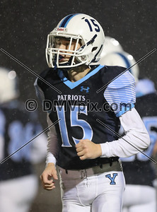 Chantilly @ Yorktown JV Football (27 Sep 2018)