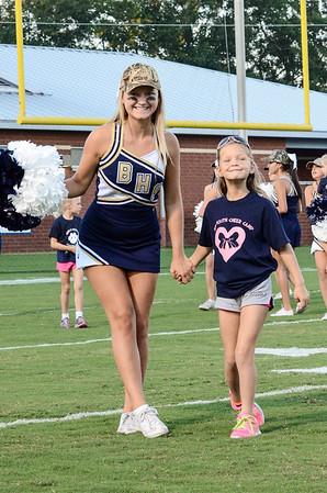 Cheerleaders BHS vs Lexington