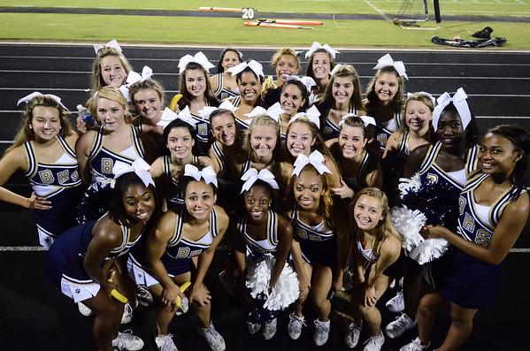 Cheerleaders  BHS vs. South Pointe