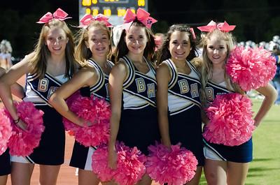 Cheerleaders BHS vs. Spring Valley