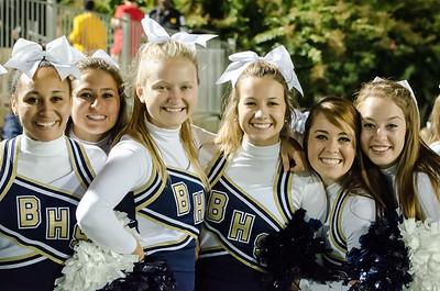 Cheerleaders BHS vs. Sumter