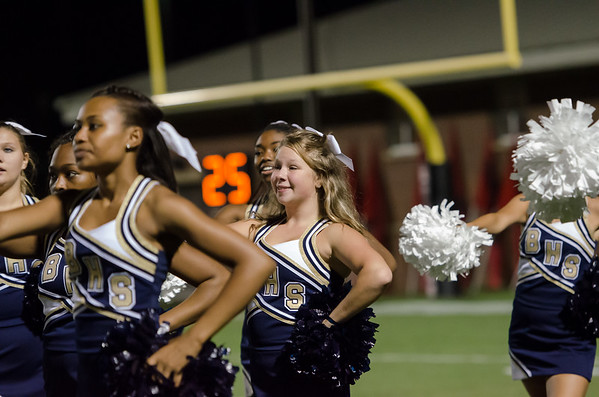 Cheerleaders BHS vs. Westwood