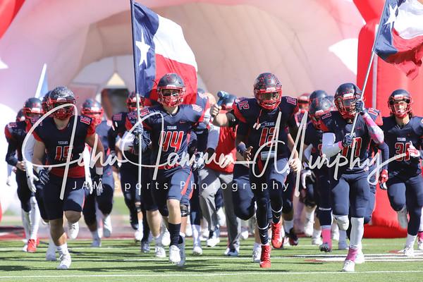Chisholm Trail  Rangers at Northwest Texans  October 28, 2017 Northwest ISD Stadium  Justin TX
