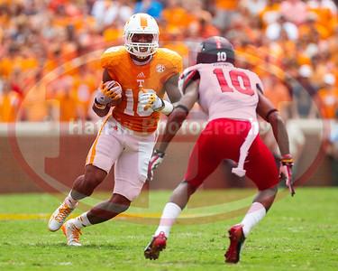 NCAA Football 2014:Arkansas State vs Tennessee SEP 06