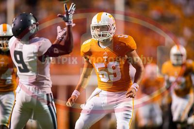 NCAA Football 2014:Utah State vs Tennessee AUG 31