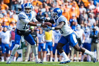 NCAA Football 2016: Kentucky vs Tennessee NOV 12