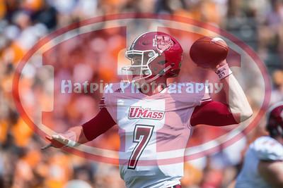 NCAA Football 2017: UMass vs Tennessee SEP 23