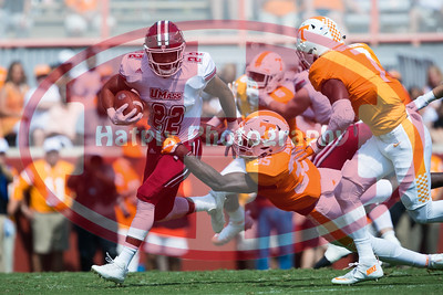 NCAA Football 2017: UMass vs Tennessee SEP 23