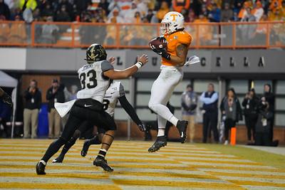 NCAA Football 2019: Vanderbilt vs Tennessee NOV 30