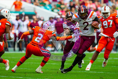Virginia Tech vs University of Miami at Hard Rock Stadium Oct 5, 2019 3:30pm kickoff