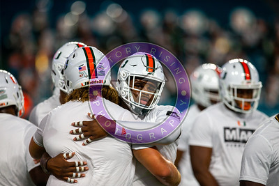 UM vs Virginia  Oct. 11, 2019 at Hard Rock