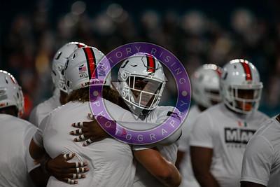 University of Miami vs Virginia  Friday Oct. 11, 2019 at Hard Rock 8pm Kick Off