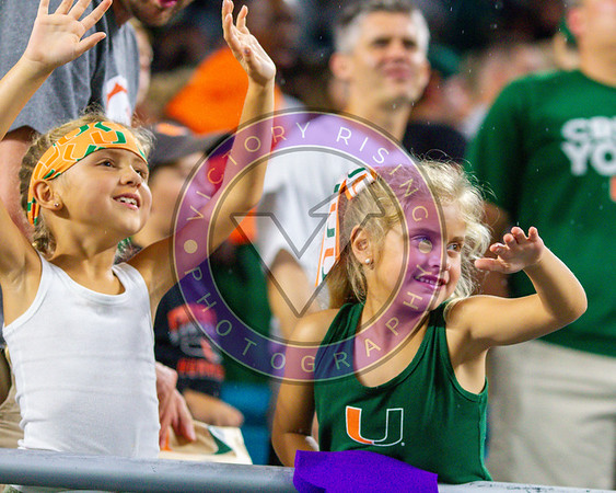 University of Miami vs Virginia  Friday Oct. 11, 2019 at Hard Rock 8pm Kick Off