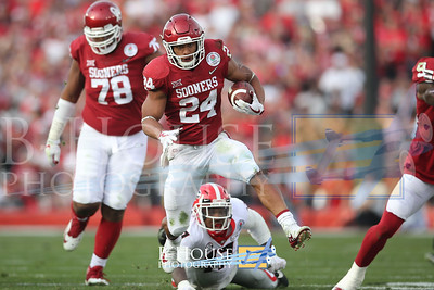 NCAA Football 2018: Rose Bowl Georgia vs Oklahoma JAN 01