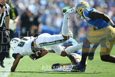 NCAA Football 2017: Hawaii vs UCLA SEP 09