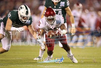 NCAA Football 2017: Holiday Bowl - Washington State vs Michigan State DEC 30