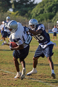 #17 Sam Hurd and #36 Quincy Butler