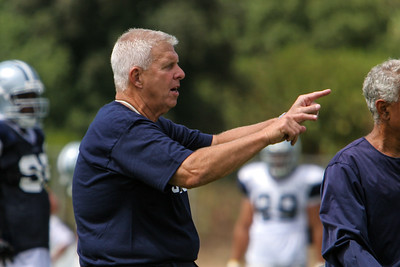 Coach Bill Parcells