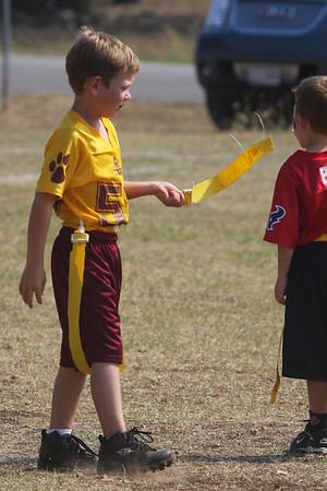 Flag DS Gold vs BU Red Sept 27, 2008