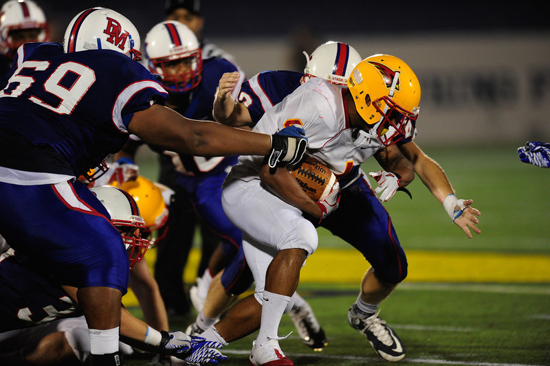 Sept 9, 2011 : during action at the 2011 Patriot Classic Football tournament at the United States Naval Academy Stadium in Annapolis, Maryland. Calvert Hall dominated and came away with a 18-0 victory over DeMatha.